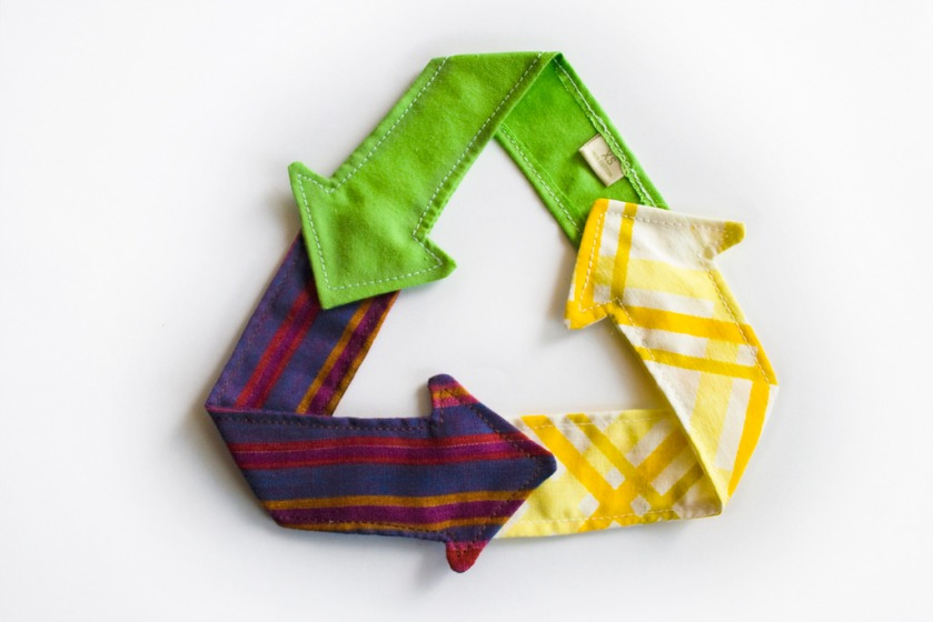 recycle cloth picture